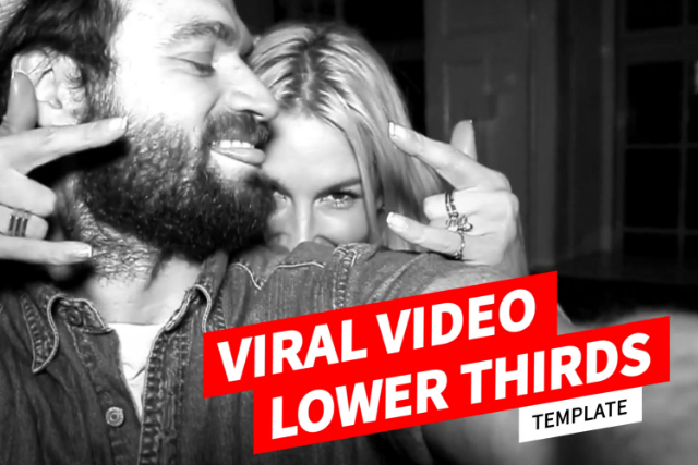 viral video lower thirds